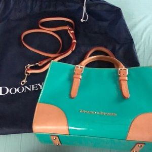 Dooney & Bourke Handbag in Turquoise